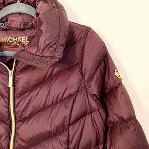 NWOT MICHAEL KORS LONG DOWN JACKET